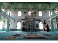 Burdur' da camiler dezenfekte edildi