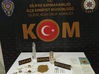 Silifke'de uyuşturucu operasyonu: 3 gözaltı