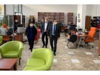 Başkan Batur'dan yeni hizmet yerlerine inceleme