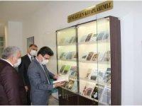 Rektör Karacoşkun Kütüphane ve Kongre Merkezini İnceledi