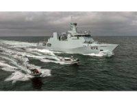 Pakistan Donanmasının 'Tabuk' korveti Aksaz'ı ziyaret etti