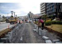 Kuşadası trafik sakinleştirme proje çalışmaları devam ediyor