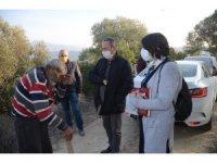 Kedilerinden ayrılamayan Mustafa amcaya Kuşadası Belediyesi sahip çıktı