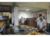 MEGSAŞ kısıtlama günlerinde de ekmek üretimine devam ediyor