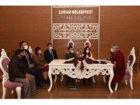 Yenilen nikah sarayında ilk nikahı başkan Aşgın kıydı
