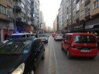 Sokağa çıkma yasağı öncesi yoğun trafik