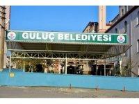 Gülüç Belediyesi cami cemaati için sundurma yaptı
