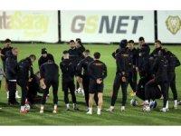 Galatasaray'da Taylan Antalyalı takımla çalıştı