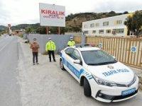 Söke'de droneli trafik denetimi yapıldı