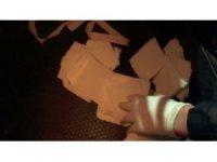 Antalya'da kağıda emdirilmiş 58 bin 200 kullanımlık bonzai ele geçirildi