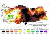 Meteorolojinin korkutan kuraklık haritası: Orta Karadeniz olağanüstü ve çok şiddetli kuraklık riskinde