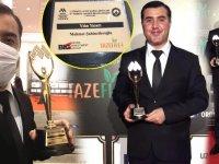 Gazeteci Yazar Mehmet Şahincileroğlu, 'Yılın Yazarı' ödülünü adı