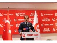 """Yeniden Refah Partisi Genel Başkanı Erbakan: """"Milli görüş ruhuyla yeniden geleceğiz inşallah''"""