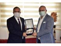 Başkan Ergün, MHP Grup Başkanvekili Akçay'ı ağırladı