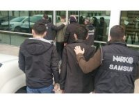 Samsun'da 6 bin 892 adet uyuşturucu hapla yakalanan 3 kişi tutuklandı