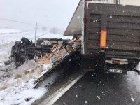 Çorum'da trafik kazası