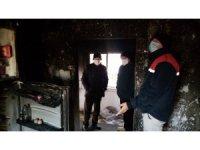 Sobayı benzinle tutuşturmak isteyince ev yandı: 6 yaralı