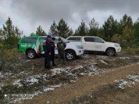 Kastamonu'da yaban hayatı drone destekli denetimlerle korunuyor