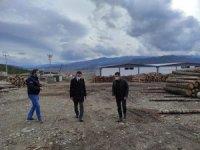 Kaymakam Akpay, OSB'deki işletmeleri ziyaret etti