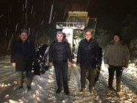 Altıeylül Belediyesinde kar nöbeti
