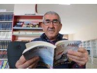Ömrünü geçirdiği kütüphaneden emekli oldu, kitaplardan ayrı kalamadı