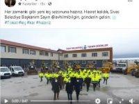 Kar yağmayan Tokat'tan Sivas'a çağrı