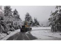 Zonguldak'ta 112 köy yolu ulaşıma kapandı
