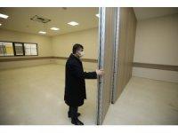 Fadıloğlu, sosyal tesisi inşaatında incelemede bulundu