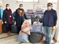 Süleymanpaşa'da 1 buçuk ton plastik kapak toplandı
