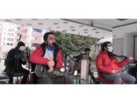 İpekyolu Belediyesi konserlerle moral aşılıyor