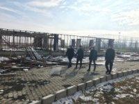 Altıntaş Meslek Yüksekokulu'nda tesis inşaatı