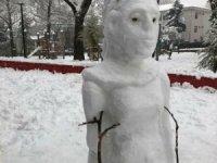 """İyi ki varsın """"kardan adam"""""""
