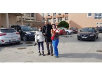 Gazeteciden sağlıkçı eşine droneli doğum günü sürprizi