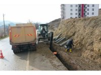 Erbaa'da alt yapı hizmetleri dur durak bilmiyor