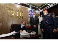 Bakan Akar, Irak İçişleri Bakanı El Ganimi ile görüştü
