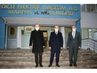Mardin Valisi Demirtaş'tan Dicle Elektrik'e ziyaret