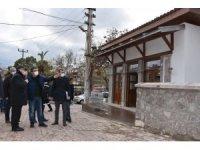 Başkan Çelik Karaoğlanlı Mahallesi'nde incelemelerde bulundu