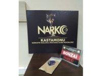 Kastamonu'da uyuşturucuyla yakalanan 1 kişi tutuklandı