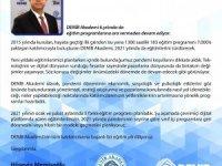DENİB Akademi 6. yılında da eğitim programlarına devam ediyor