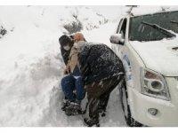 Kdz. Ereğli Belediyesi acil hastaların yardımına koşuyor