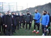 Bakan Kasapoğlu, Hekimoğlu Trabzon'u ziyaret etti