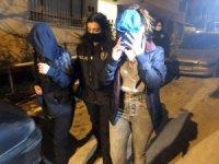 Ankara'da uyuşturucu partisine polis baskını: 7 gözaltı
