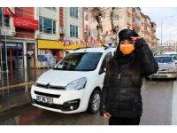 Amasya'nın kamu personeli 'Şoför Nebahat'i