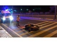 Kuşadası'nda motosiklet kazası: 1 ağır yaralı