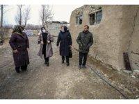 Van Büyükşehir Belediyesinden engelli aileye ziyaret