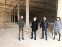 ÖTO'dan Ödemiş Organize Sanayi Bölgesindeki firmaların yeni üretim tesisine ziyaret