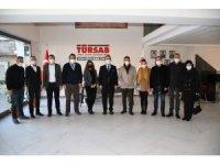 CHP'li Tezcan TÜRSAB Aydın Bölgesel Temsul Kurulu'nu ziyaret etti