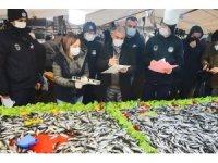 Gaziosmanpaşa'da balık tezgahlarına sıkı denetim