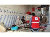 Türk Kızılay'dan Afganistan'daki iç göçmenlere destek