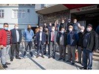 Büyükşehir Belediyesinin desteği, toplu taşıma esnafına büyük moral oldu